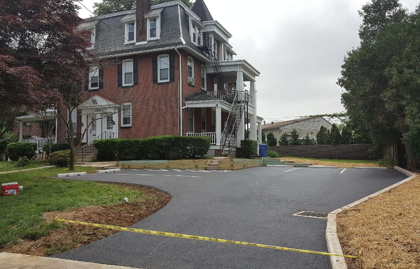 picture of new asphalt driveway in Ridley Park, PA